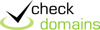 Check Domains logo